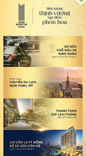 DỰ ÁN THE GRAND MANHATTAN QUẬN 1?>